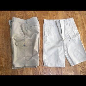 SET of 2 boys shorts SUPER condition
